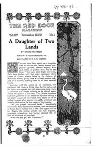 Thumbnail of the first page of the facsimile for A Daughter of Two Lands.