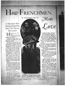 Thumbnail of the first page of the facsimile for How Frenchmen Make Love.