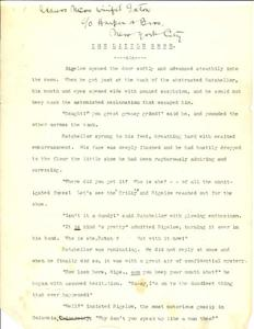 Thumbnail of the first page of the facsimile for The Little Shoe.