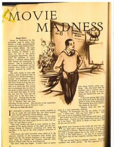 Thumbnail of the first page of the facsimile for Movie Madness [Part Three].