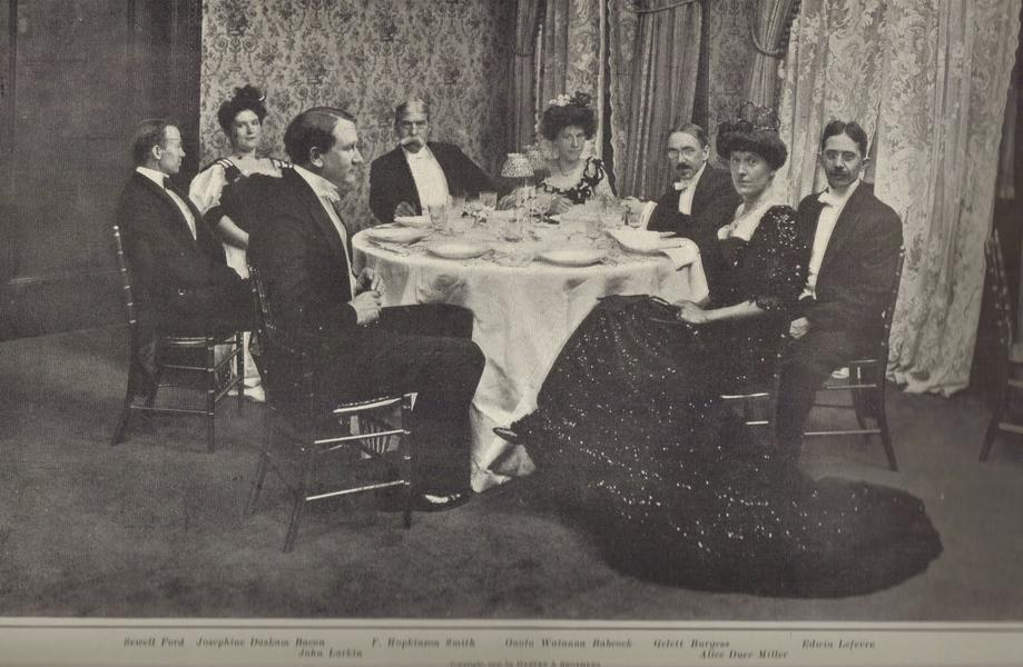 70th Birthday Party for Mark Twain in New York City.